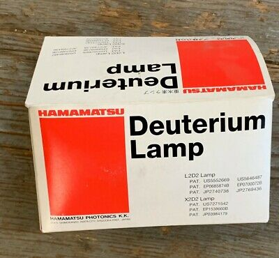 Hamamatsu Deuterium Lamp X2D2 For L10295 New In The Package