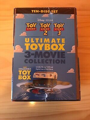 Toy Story Trilogy: Ultimate Toy Box Collection [Blu-ray+DVD+Digital, 10-Disc]