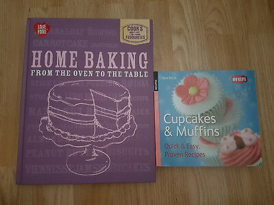 Home baking from the oven to the table cook book, Cupcakes and muffins cookbook
