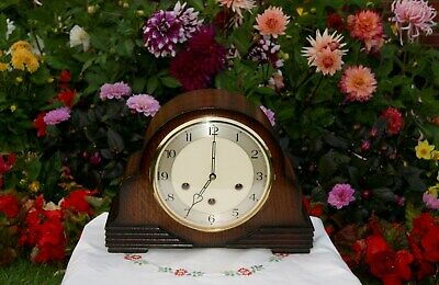 Smiths Antique Art Deco Westminster Chime Mantel Clock, Outstanding & Rare!!