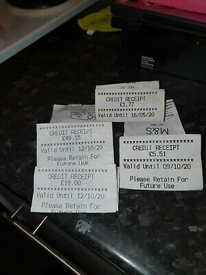 M&s credit voucher