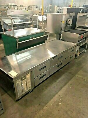 """Delfield Refrigerated Grill Stand 6 Drawers - 87""""  #14357"""