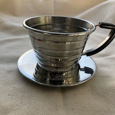Kalita Wave 155 Pour Over Coffee Dripper Stainless