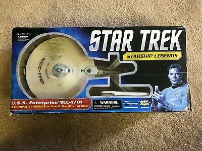 Star Trek Diamond Select Uss Enterprise Ncc-1701-A Starship Legends