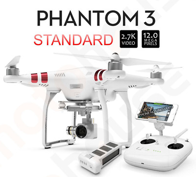 DJI Phantom 3 Standard Quadcopter with 2.7K Camera and Carrying Case