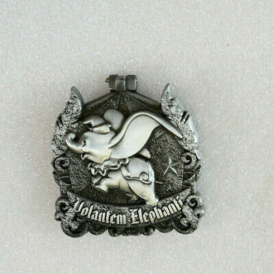 Disney Pin 133968 DLR Crests of the Kingdom Dumbo the Flying Elephant LE 2000