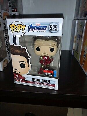 Funko Pop! Iron Man Guantlet NYCC Shared Exclusive Amazon SOLD OUT HARD TO FIND
