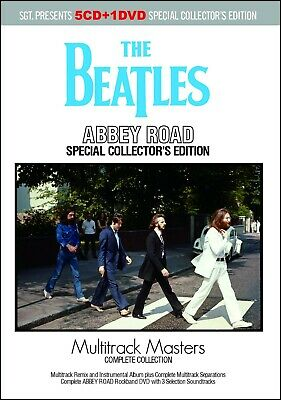 THE BEATLES / ABBEY ROAD : = MULTITRACK MASTERS = COMPLETE Press 5xCD+1xDVD *F/S