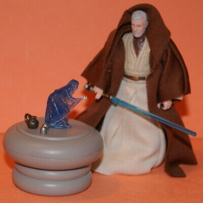 Star Wars Legacy Obi-Wan Kenobi & Holo Table Resurgence Of The Jedi Loose