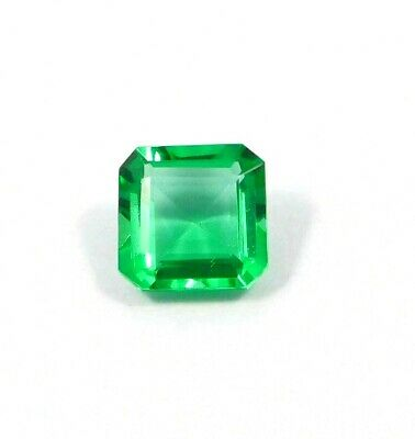 Treated Faceted Emerald Gemstone8.1CT 10x10mm RM16874