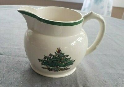 "Spode Christmas Tree PITCHER Jug - 4 1/2"" high"