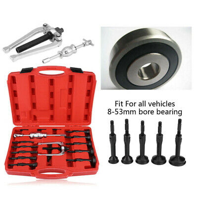 16X Car Inner Disassemble Bearing Blind Hole Remover Extractor Puller Tool Kit