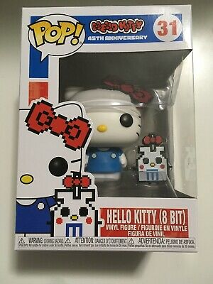 Funko Pop Hello Kitty 45th Anniversary 8-Bit Limited Edition Chase! New
