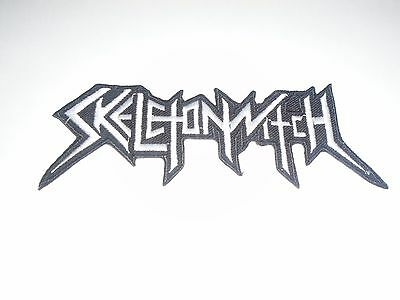 Skeletonwitch Thrash Metal Iron On Embroidered Patch