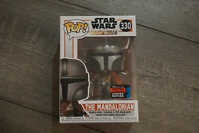 Funko Pop The Mandalorian #330 Star Wars NYCC SHARED Exclusive 2019 *IN HAND*