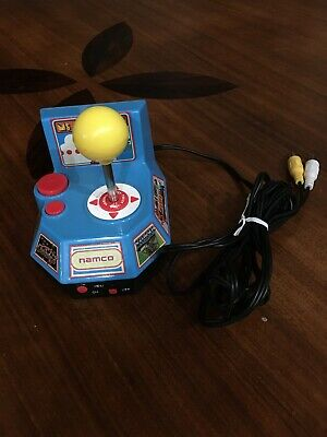 Ms Pac-man 5 in 1 Plug and Play handheld TV video game Namco Tested Works Great!