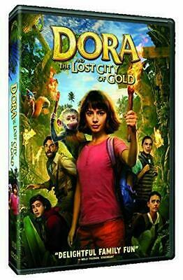 Dora and The Lost City of Gold (DVD 2019) NEW DIRECT SHIPMENT - SHIPS 11-19