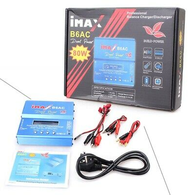 iMAX B6AC Lipo NiMH 3S RC Battery Balance Digital Charger Discharger 80W st
