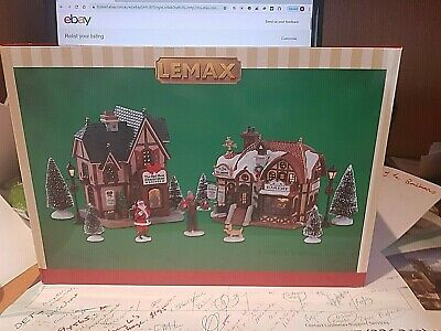 Lemax  Christmas Village NEW starter set 2019. Great value