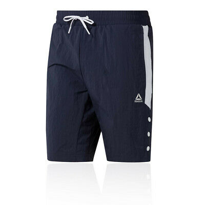 Reebok Mens Meet You There Woven Shorts Pants Trousers Bottoms - Navy Blue