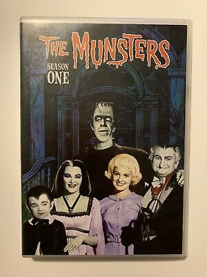 The Munsters - The Complete First Season (DVD, 2013, 6 Discs) Like new!