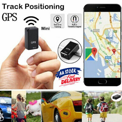 Magnetic Tracking GSM GPS Tracker Car Spy Mini Real Time Device GPRS Locator