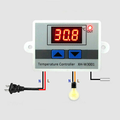 KKmoon AC//DC24V Digital Thermostat Home Room Heating Temperature Controller D4B0