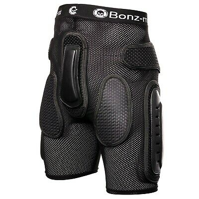 BONZ MX Kids teens Motocross motorcycle MX Armour Protective Pants Shorts