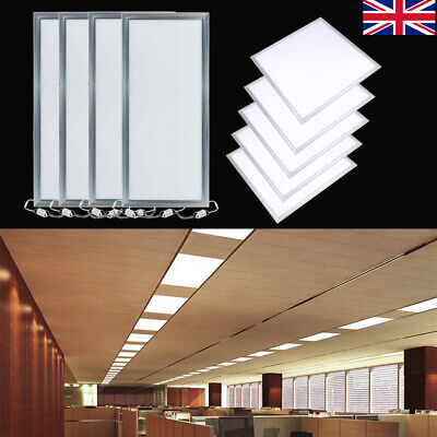 36W/48W/72W Square LED Panel Ceiling Light Wall Kitchen Bathroom Lamp Cool White