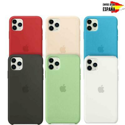 Funda de silicona original para Apple iPhone 11 11 Pro 11Pro Max Genuino