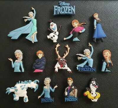 14 x Frozen Shoe Charms Made For Croc shoes Crocs Jibbitz Charm Elsa Anna Olaf