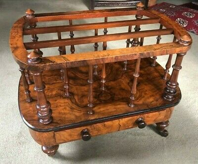Antique Canterbury Table, English, Victorian