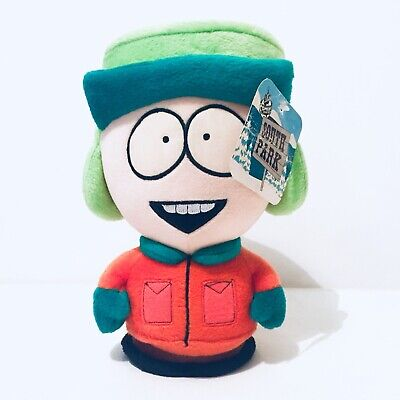 """South Park Kyle Plush Soft Toy Vintage Retro 1998 With Tags 8"""""""