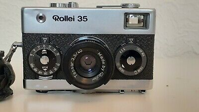 ROLLEI 35  35MM FILM CAMERA teaser 3 5/40.made in Singapore