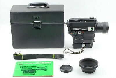 """""AS-IS"""" FUJICA Single-8 SOUND ZM800 8 Movie Film Camera w/ Case FROM JAPAN"