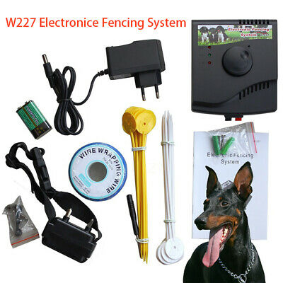 VALLADO INVISIBLE Collar Eléctrico AntiFuga Brida de distancia para Perro W227