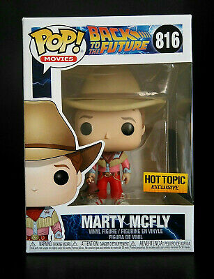 Funko Pop! Back To The Future Marty McFly (Cowboy) Hot Topic Exclusive Preorder