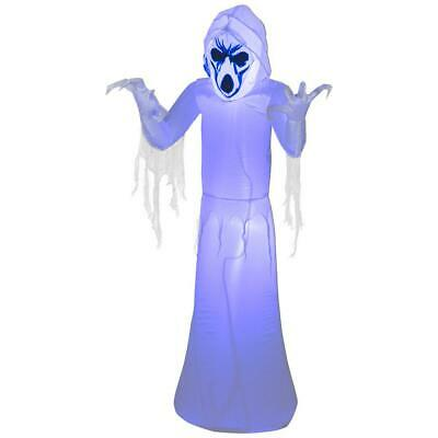 5 ft. Pre-Lit Black Light Inflatable Frightening Reaper Airblown