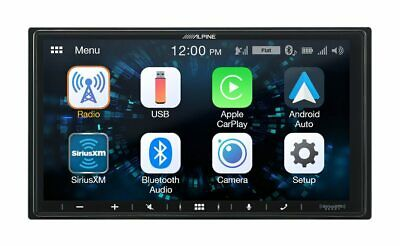 "Alpine iLX-W650, 7"" Double Din Media Receiver, CarPlay / Android Auto Open Box"