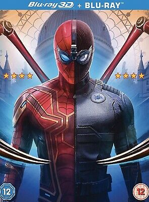 Spider-man Far From Home 3D AND 2D BLU RAYS New In The Box Eta Late November