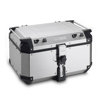 GIVI 58Ltr OUTBACK TOP CASE SILVER