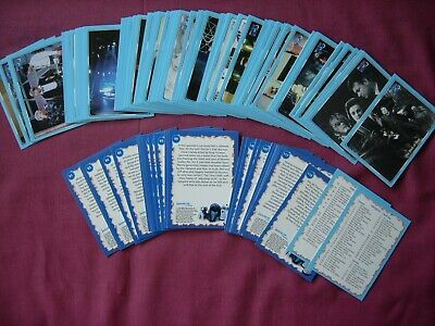 Doctor Who Definitive Collection Series 1 110/120 PART SET ONLYStrictly Ink 2000