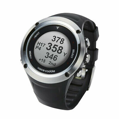 New 2018 Voice Caddie G2 Hybrid Gps Watch With Slope Black