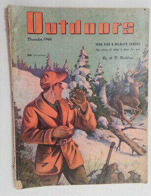 Outdoors magazine Back Issue: December, 1946