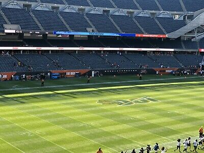 2 Chicago Bears V New Orleans Saints 10/20/19 UNITED CLUB AND SOUTH PARKING