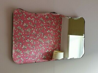 Mid Century Vintage Retro Antique 1920s Art Deco Bevelled Edge Mirror