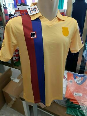 Rebajas %%%  Camiseta Meyba F.C.Barcelona 84/89 away Yellow