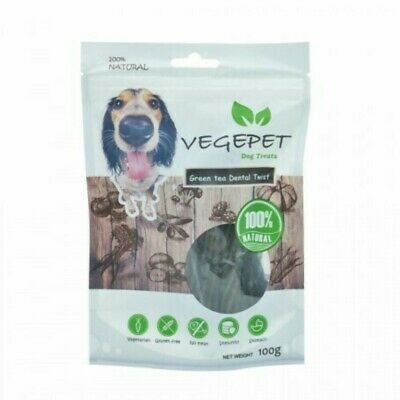 Green Tea Dental Twist 340Gr - Vege Pet