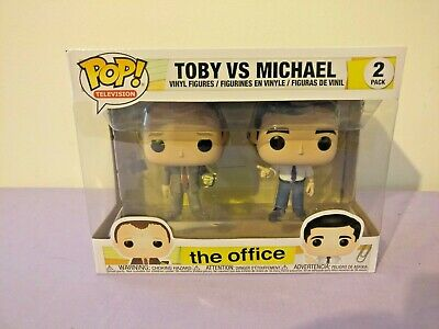 Funko Pop! Television The Office TOBY VS MICHAEL 2 Pack