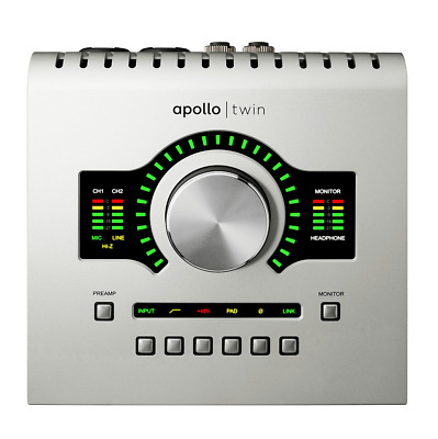 Universal Audio Apollo Twin Duo Core Thunderbolt Audio Interface